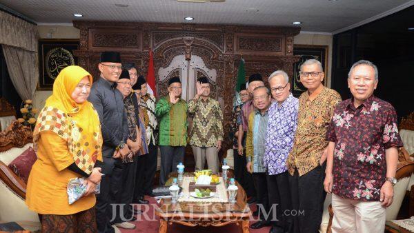 Delegasi PKS Kunjungi PP Muhammadiyah, Perkuat Komitmen Keislaman dan Keindonesiaan