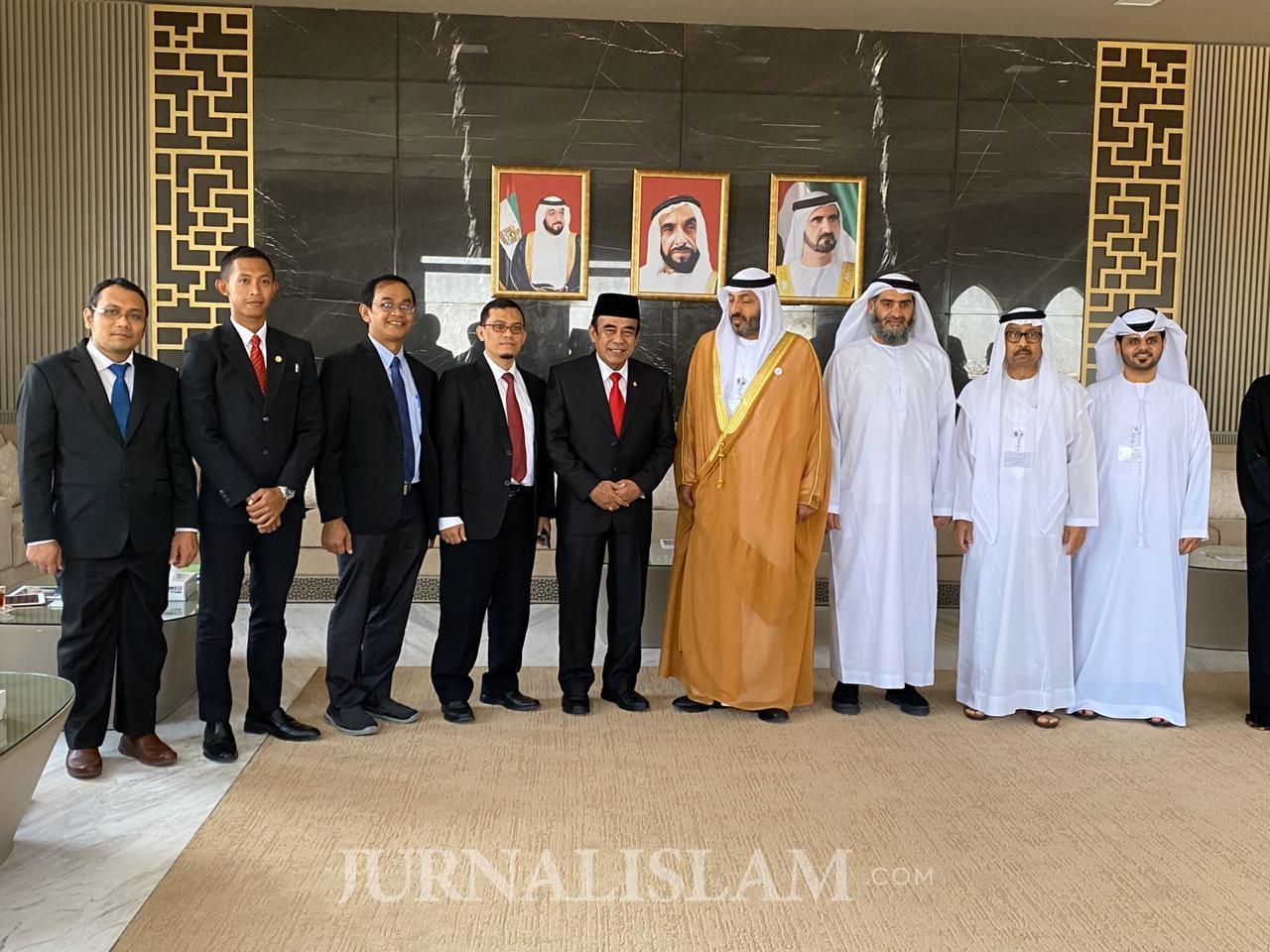 Menang Kunjungi Abu Dhabi, Jajaki Kerjasama dengan Sejumlah Kementerian Uni Emirat Arab