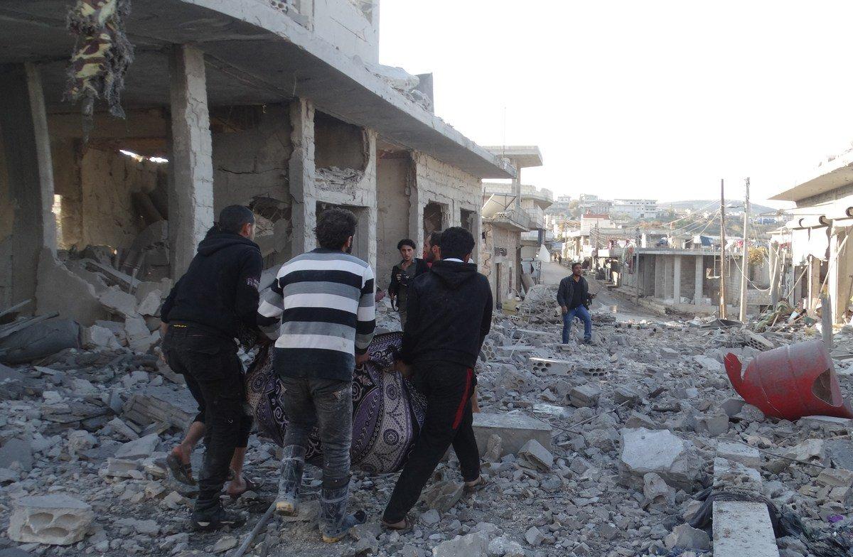 Hindari Pemboman Rezim dan Rusia, 12.000 Warga Suriah Pindah ke Perbatasan Turki