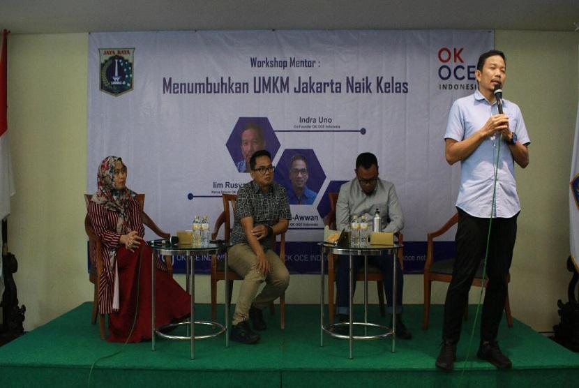 OK OCE Targetkan 200 Ribu Wirausahawan Jakarta 2020