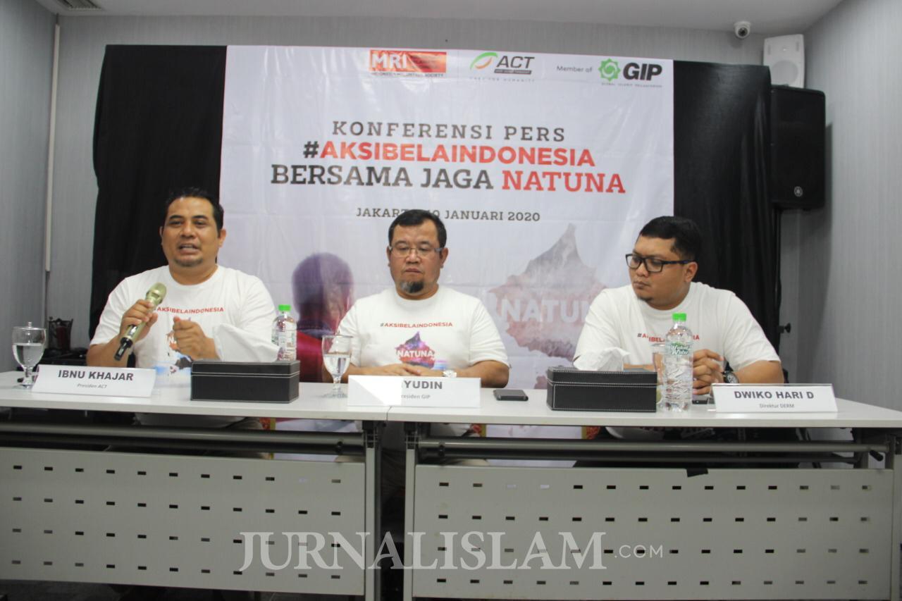 ACT Ajak Masyarakat Dukung Pemerintah Jaga Perairan Natuna