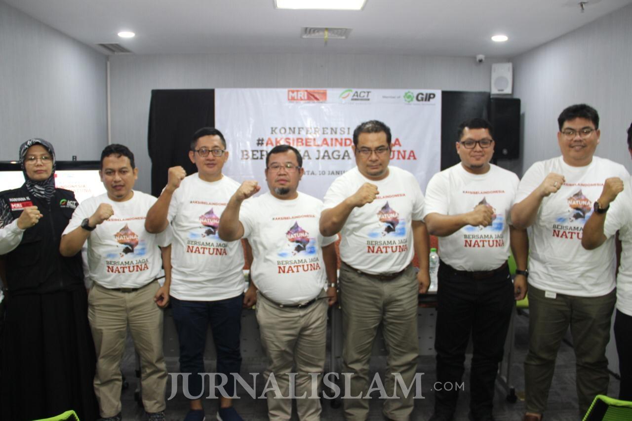 ACT Kirim 1000 Ton Bantuan Logistik untuk TNI dan Nelayan Natuna
