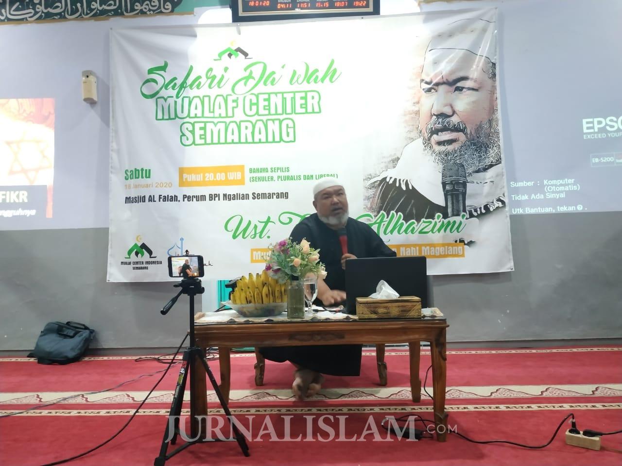 JAS dan Mualaf Center Semarang Gelar Kajian Keluarga