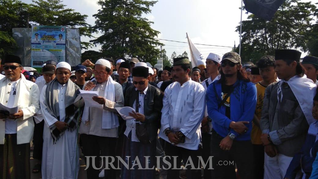 Warga Banten Serukan Qunut Nazilah terkait Kondisi Kaum Muslimin