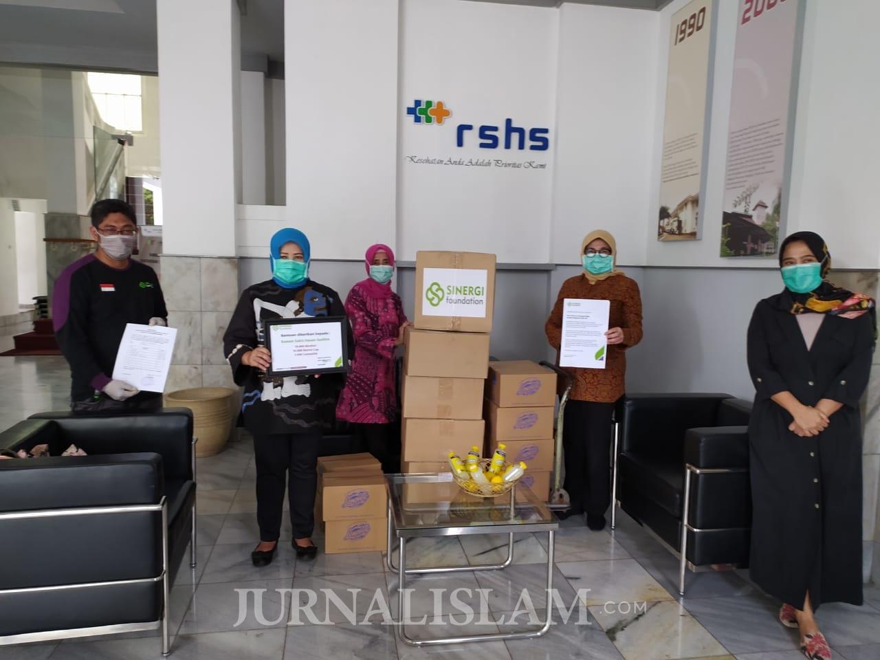 Sinergi Foundation Salurkan 80 Ribu Masker ke Rumah Sakit