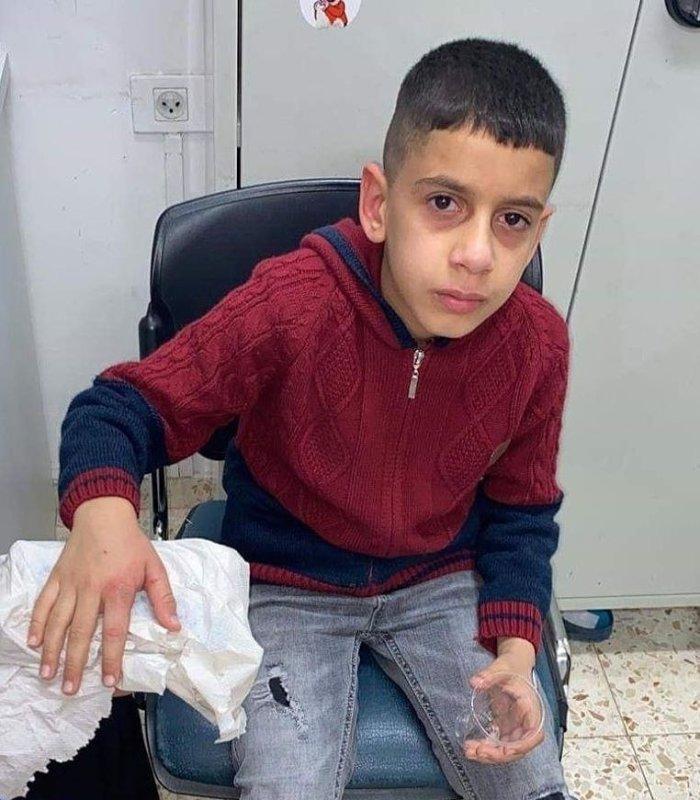 Polisi Israel Menembak Anak Palestina Saat Sedang Sekolah