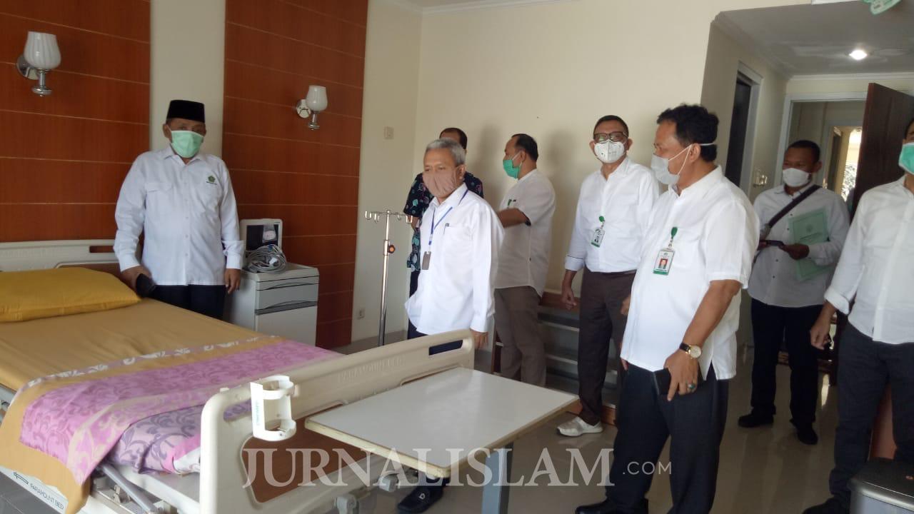 Ruang Isolasi Covid-19 Asrama Haji Pondok Gede Siap Digunakan