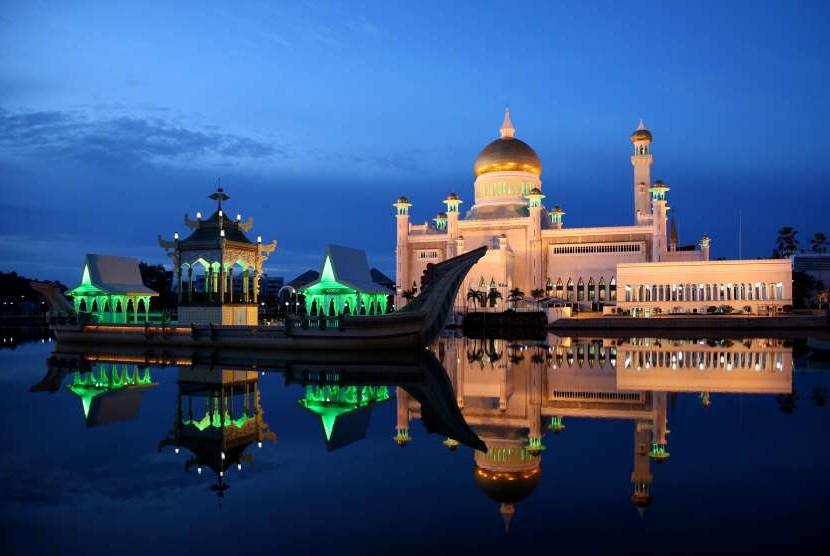 Dampak Corona, Brunei Perpanjang Penutupan Seluruh Masjid