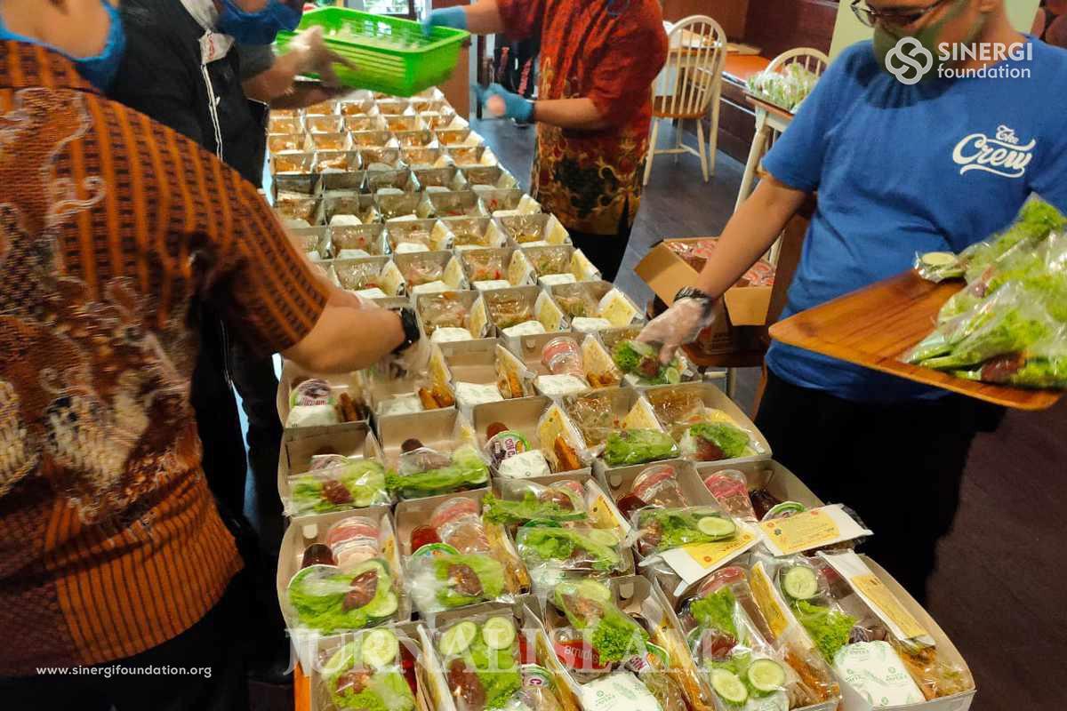 RM Wakaf Ampera Pasteur Sediakan 10.000 Paket Ifthar