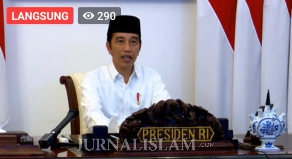 Presiden Jokowi Minta Masyarakat Sabar Hadapi Corona