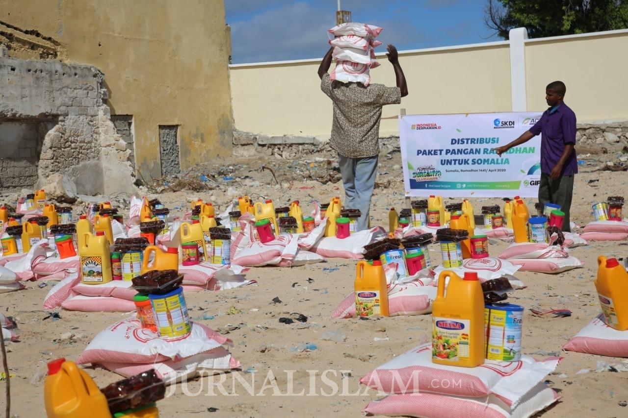 ACT Distribusi Paket Pangan Ramadan untuk Pengungsi Somalia