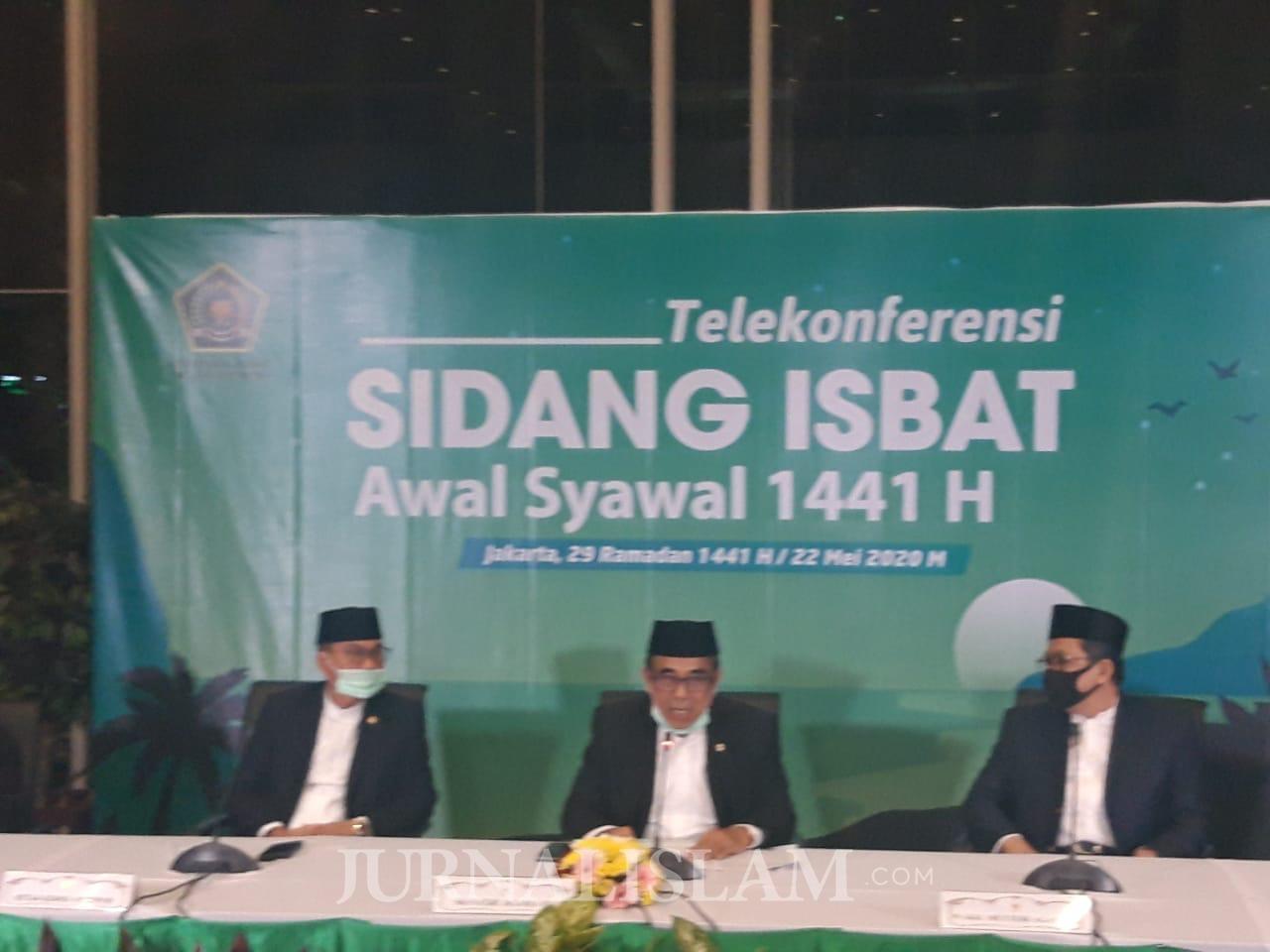 Pemerintah Tetapkan 1 Syawal 1441H Jatuh Pada Ahad 24 Mei