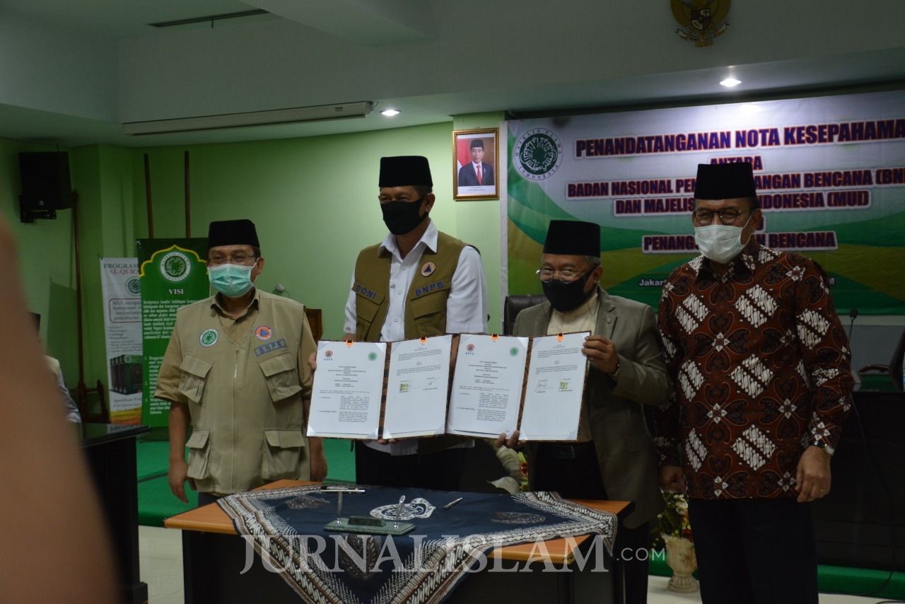 MUI-BNPB Jalin Kerjasama Tanggulangi Covid-19 di Era New Normal