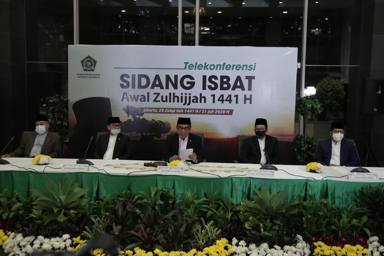 Pemerintah Tetapkan Idul Adha 1441H Jatuh pada 31 Juli 2020