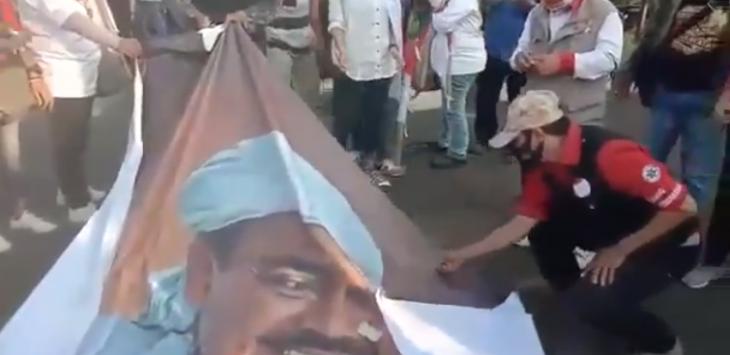 Ulama Aceh ke Pembakar Spanduk HRS: Aparat Diam, Kami Bertindak Sendiri