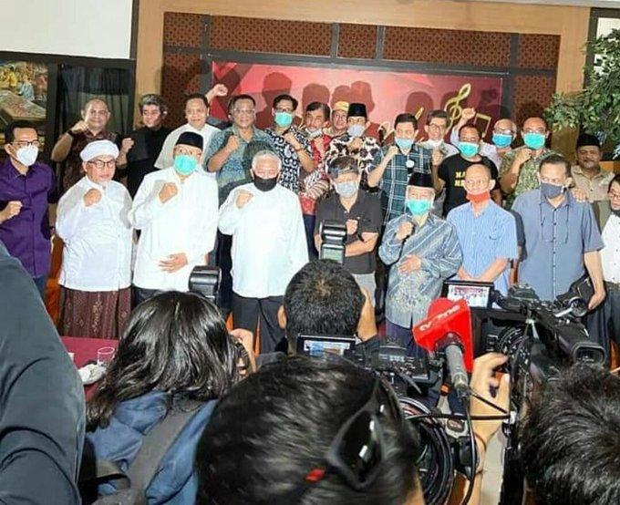 Sejumlah Tokoh Nasional Deklarasikan Koalisi Aksi Menyelamatkan Indonesia