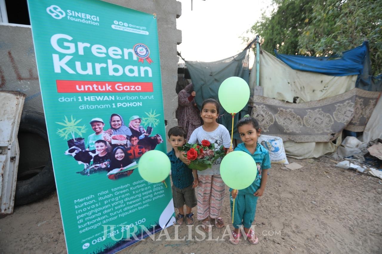 Salurkan Kurban untuk 62.225 Dhuafa, Sinergi Foundation Siap Tanam Ribuan Pohon