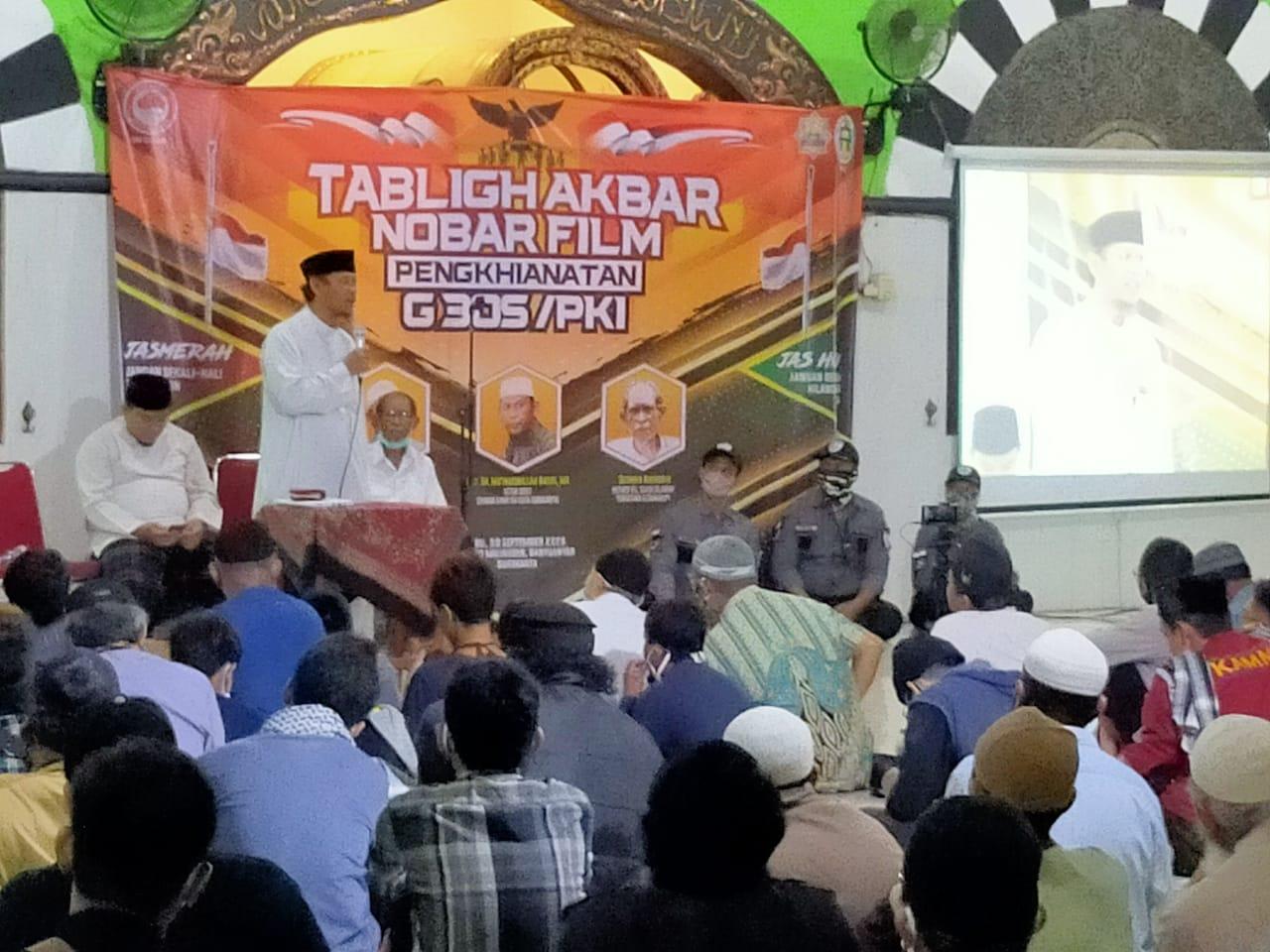 DSKS Gelar Tabligh Akbar dan Nobar Film G30S/PKI