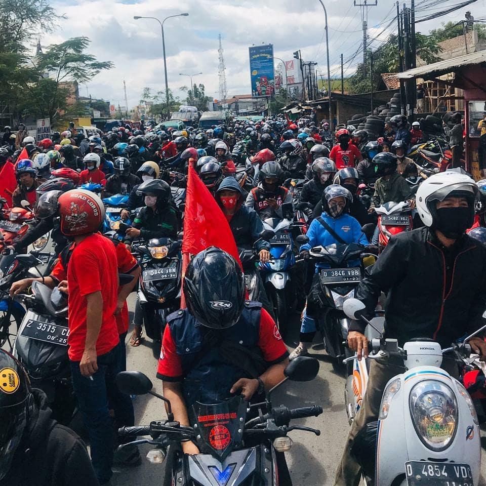 Buruh Serukan Demo hingga Jokowi Cabut UU Ciptaker
