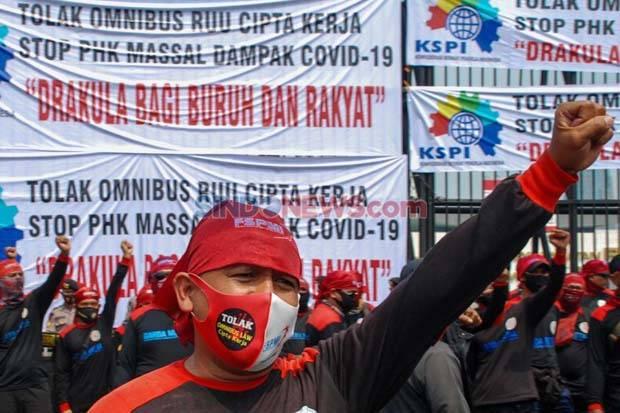 Aliansi Buruh Bakal Demo Besar-besaran Tolak RUU Ciptaker