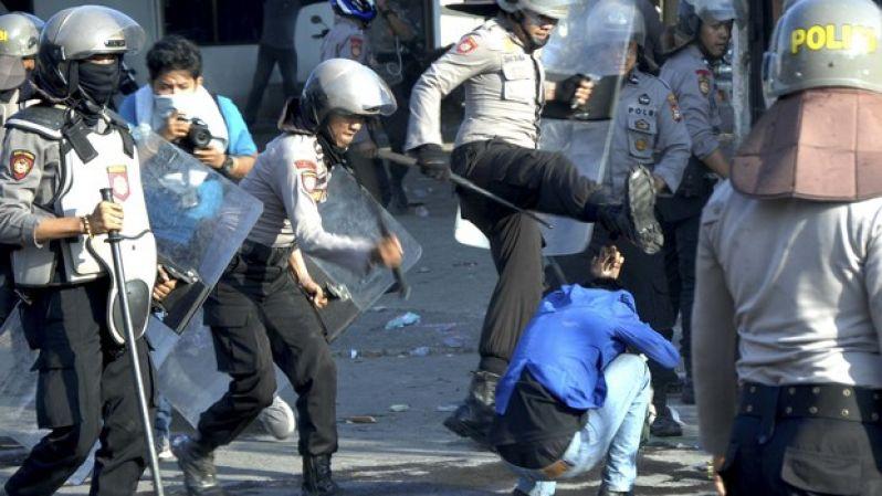 BEM SI Kecam Tindakan Represif Polisi