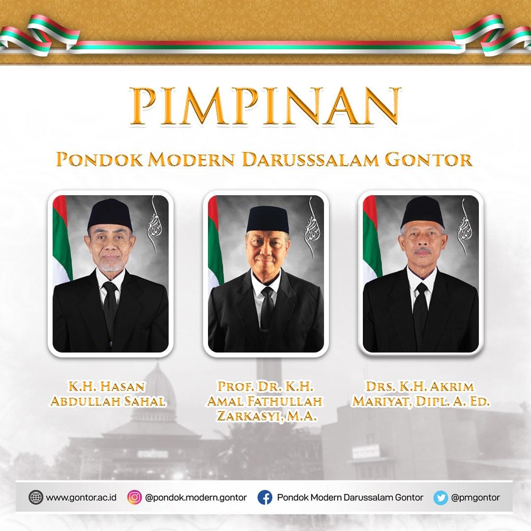 Pasca KH Syukri Wafat, Tiga Pimpinan Baru Pondok Modern Gontor Dilantik