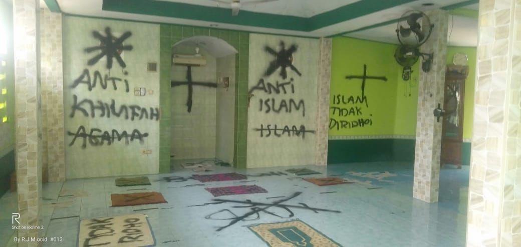 Prihatin Vandalisme Masjid, Kemenag Minta Polisi Tangani Secara Profesional