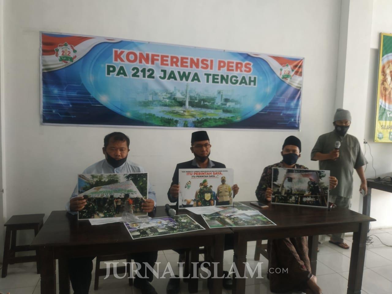PA 212: Berdasar UU Kewenangan TNI Jaga Kedaulatan, Bukan Copot Baliho