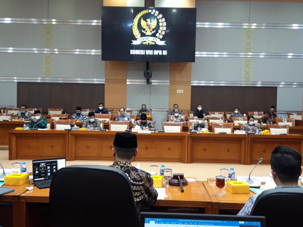 Kemenag dan DPR Baha Evaluasi Umrah Saat Pandemi