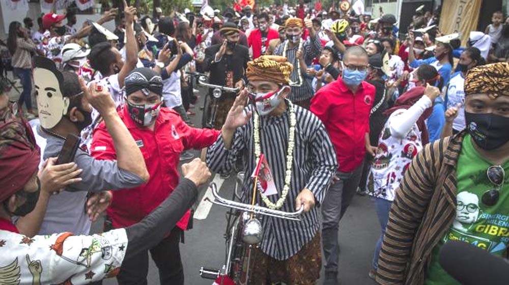 Bela Gibran, Polisi Minta Jangan Samakan Kerumunan Pilkada dengan Maulid