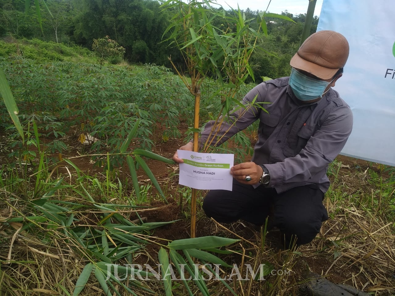 Tutup 2020, Sinergi Foundation Tanam Bambu untuk Hijaukan Bumi