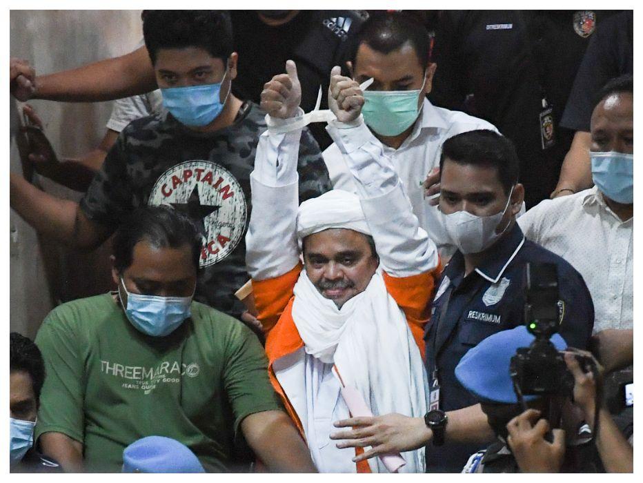 Dari Balik Jeruji, Habib Rizieq Serukan Umat Kawal Kasus Pembunuhan Laskar FPI