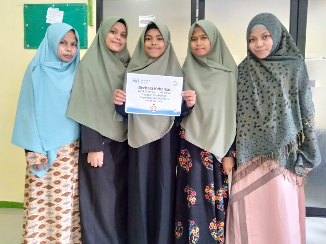 AR Learning Center Berbagi Kebaikan Kepada Istana Qur'an YAPAMUS Jakarta