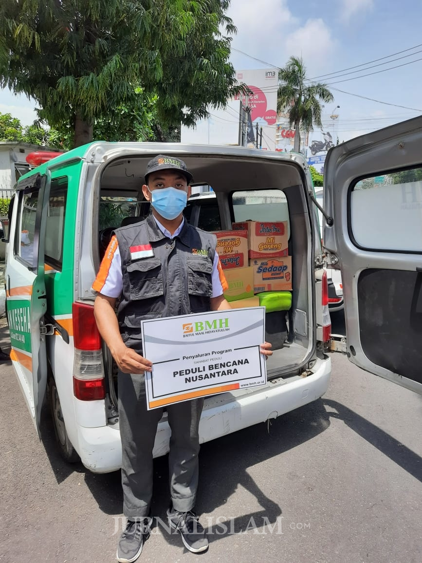 Longsor Nganjuk, Laznas BMH Kirim Bantuan Untuk Korban