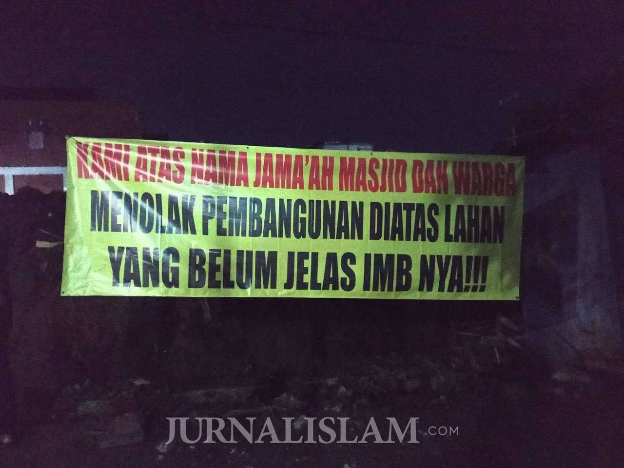 Tak Minta Izin, Warga Solo Tolak Pembangunan PPA Daniel Gereja Kristen Indonesia