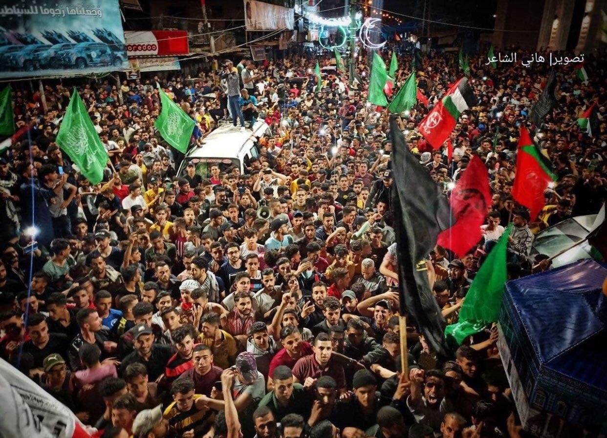 Warga Gaza Rayakan Idul Fitri dan Kemenangan Genjatan Senjata